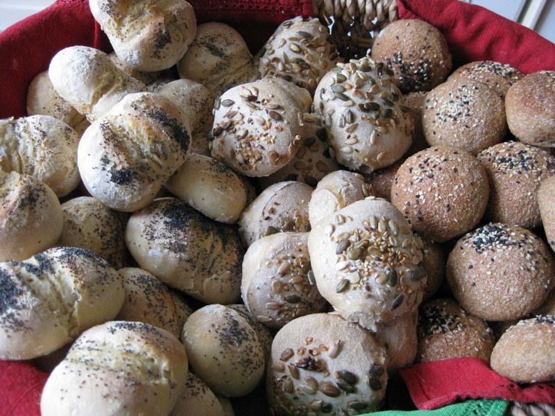 Recipes for bread rolls